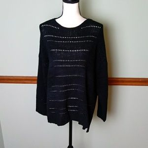 New cable & gauge size XL sweater